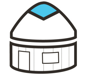 Alzar-logo-into-yurt-with-lines