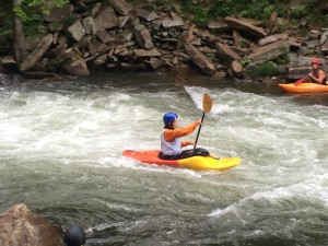 A successful run through Nantahala Falls