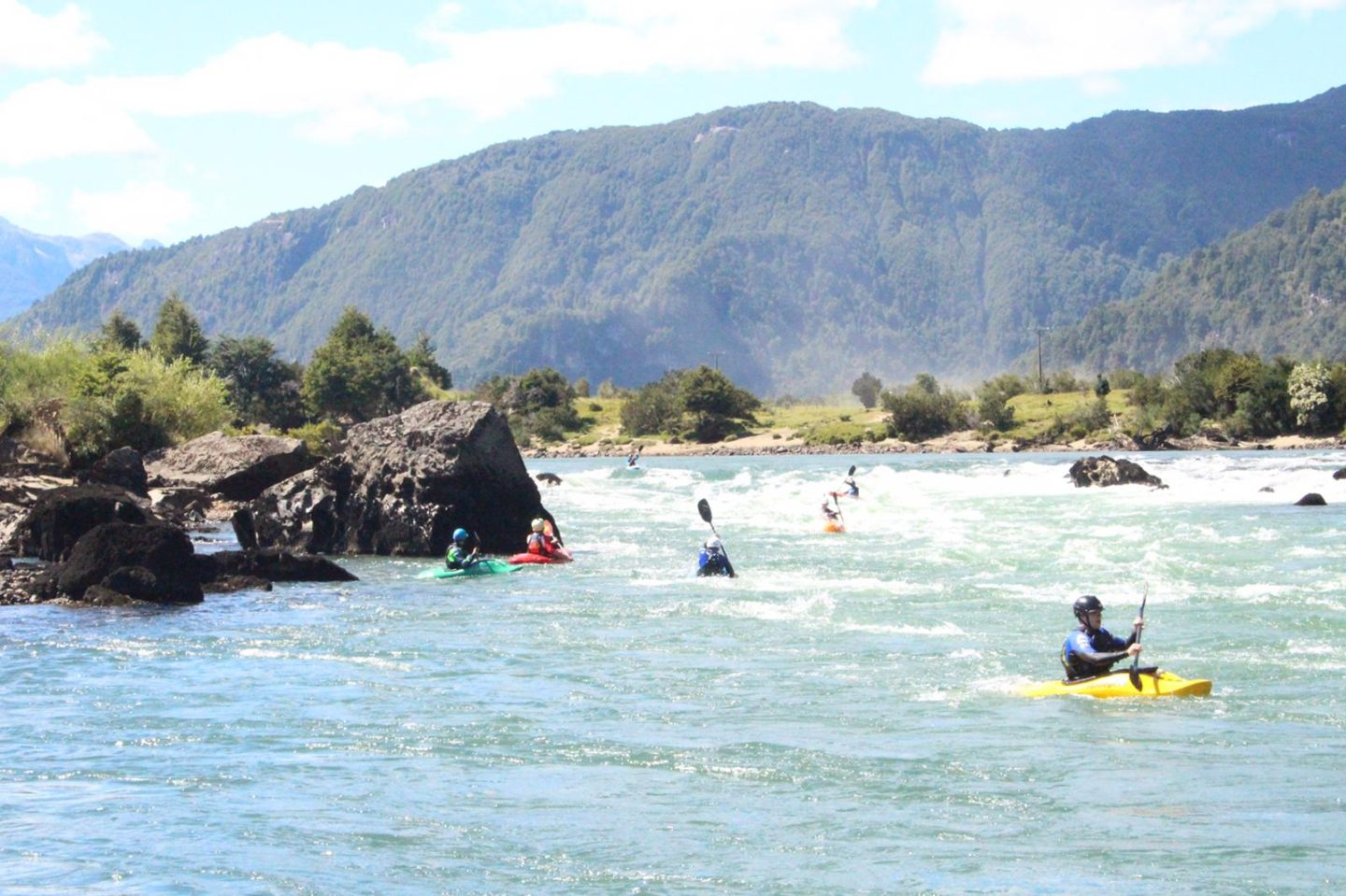 Learning to Kayak in Chile